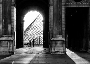 Hallways at the Louvre